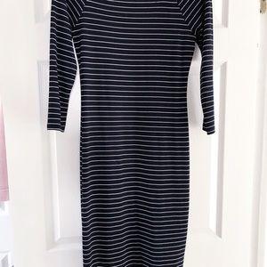 Zara Stretch Striped Dress